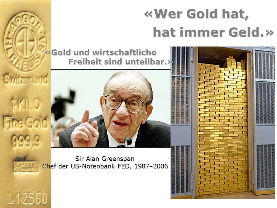 Chef der US-Notenbank FED, 1987–2006