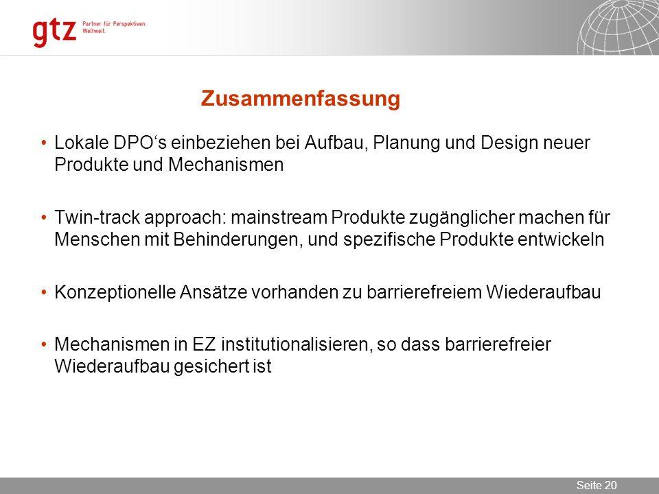 ZusammenfassungLokale DPO's einbeziehen bei Aufbau, Planung und Design neuer Produkte und Mechanismen.