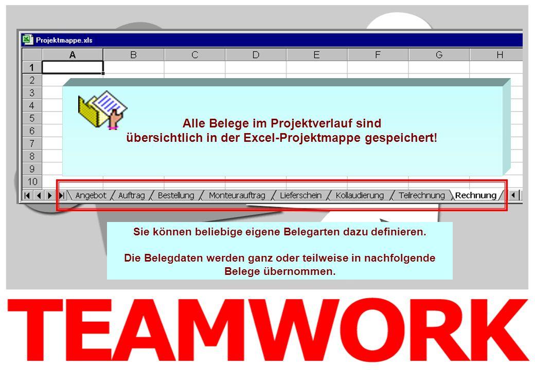 übersichtlich in der Excel-Projektmappe gespeichert!