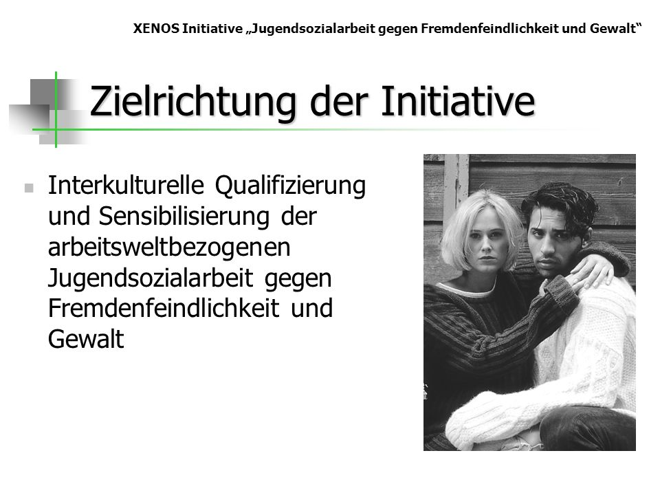Zielrichtung der Initiative