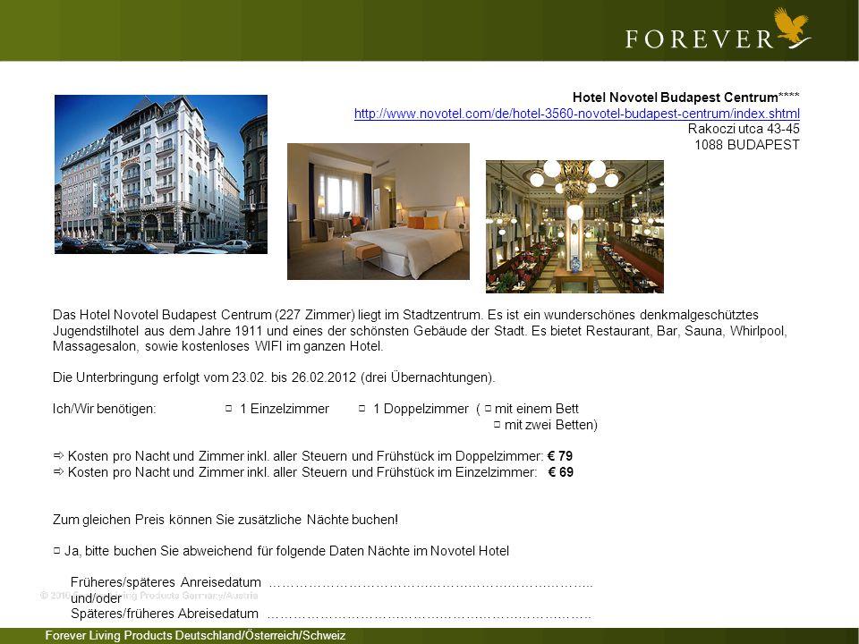 Hotel Novotel Budapest Centrum****