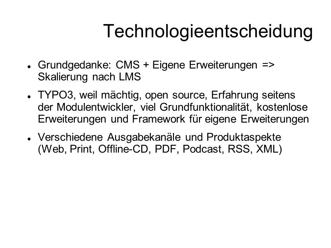 Technologieentscheidung