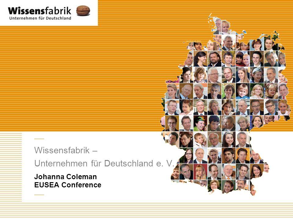 Wissensfabrik – Unternehmen für Deutschland e. V.