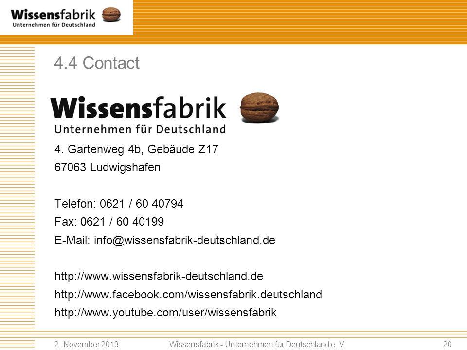 Wissensfabrik - Unternehmen für Deutschland e. V.