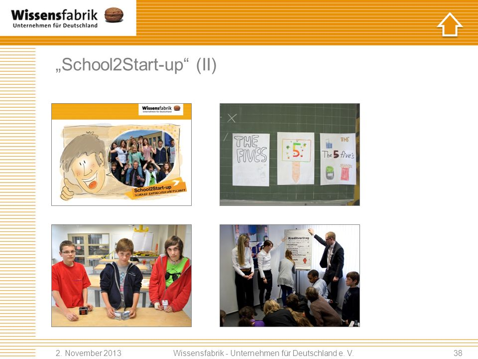"""School2Start-up (II)"