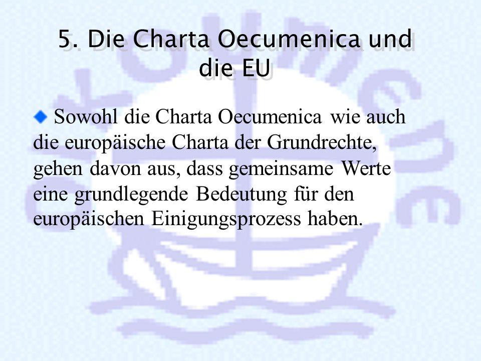 5. Die Charta Oecumenica und die EU