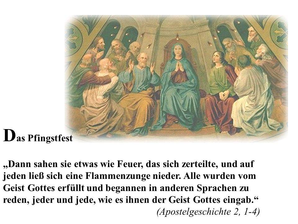 Das Pfingstfest