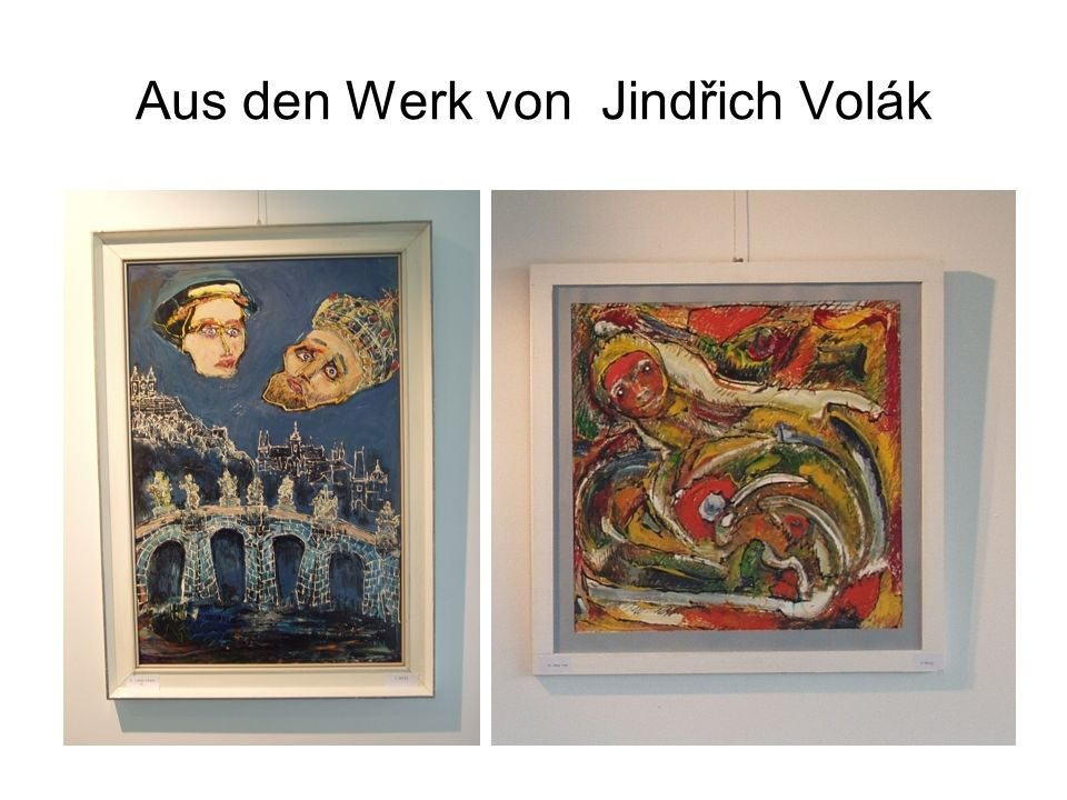 Aus den Werk von Jindřich Volák