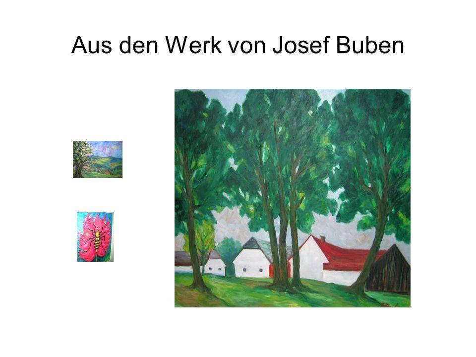 Aus den Werk von Josef Buben