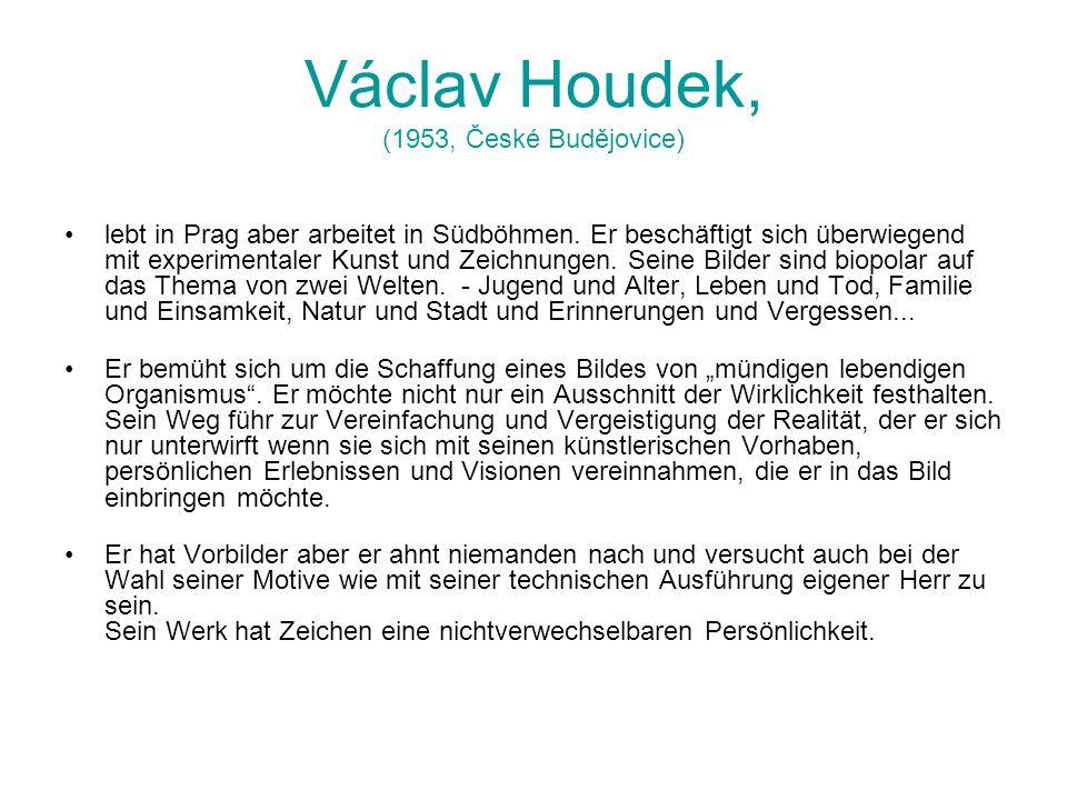 Václav Houdek, (1953, České Budějovice)