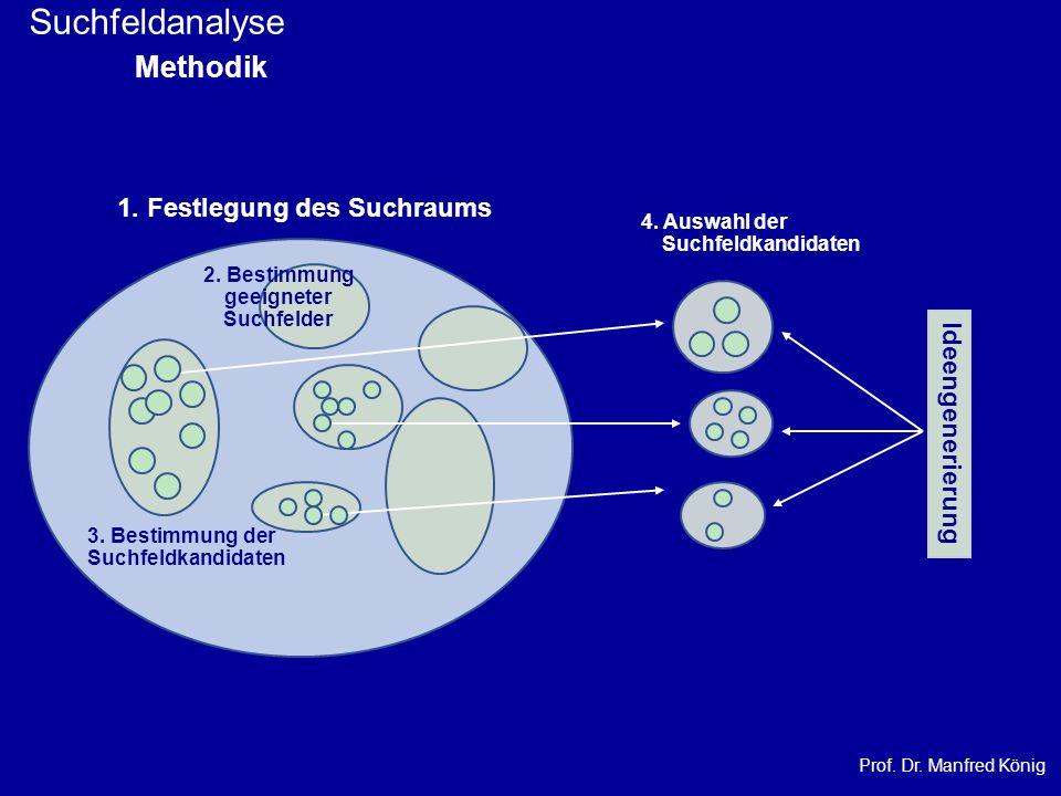 Suchfeldanalyse Methodik