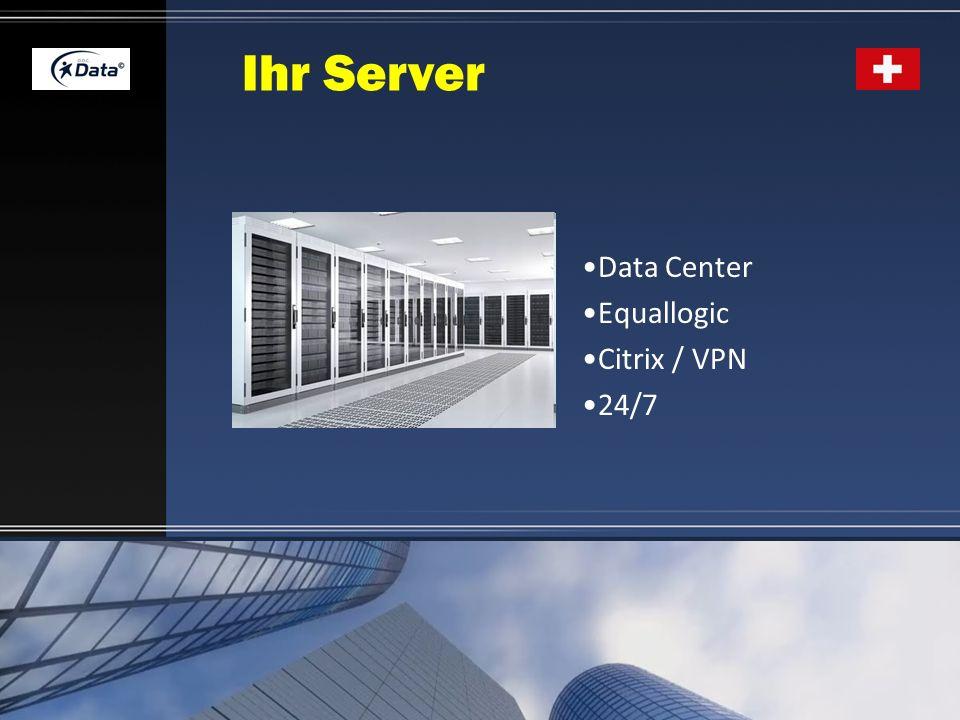 Ihr Server Data Center Equallogic Citrix / VPN 24/7