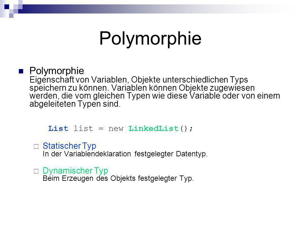 Polymorphie