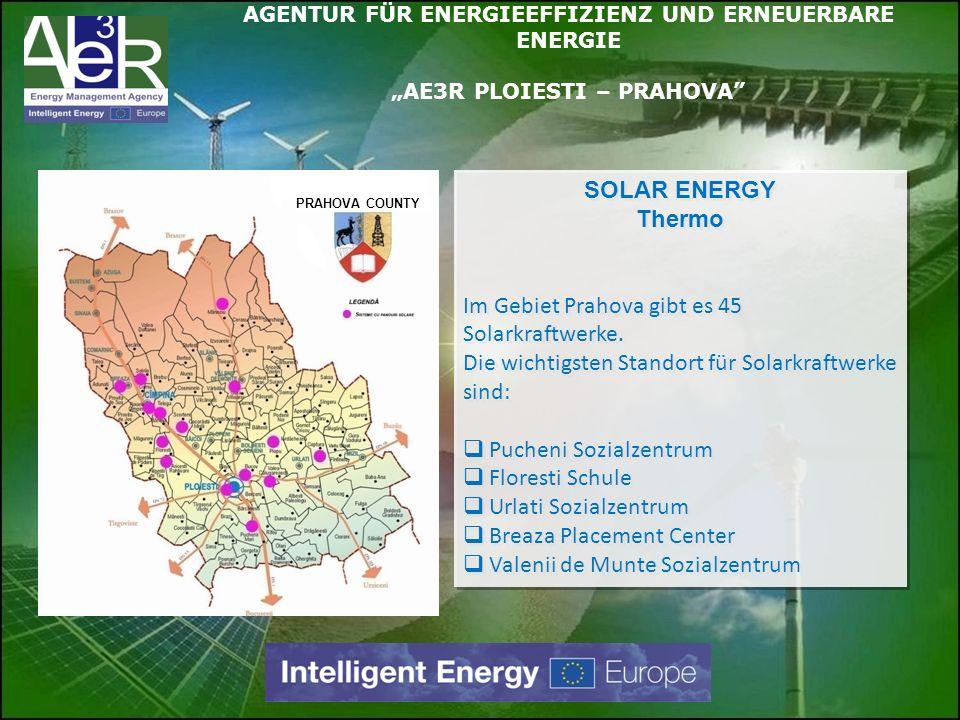 Im Gebiet Prahova gibt es 45 Solarkraftwerke.