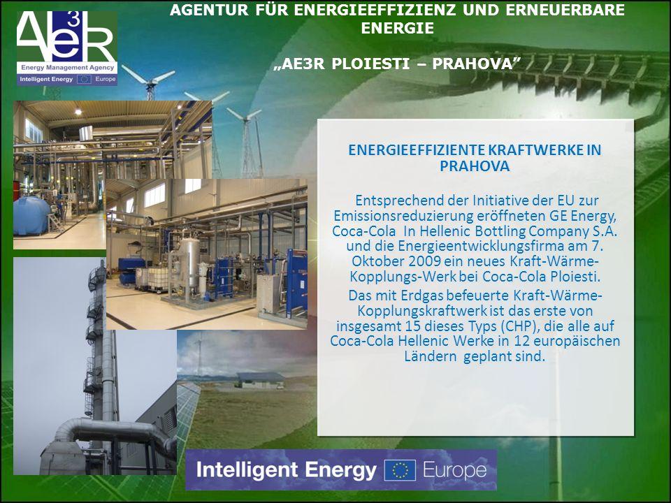 ENERGIEEFFIZIENTE KRAFTWERKE IN PRAHOVA