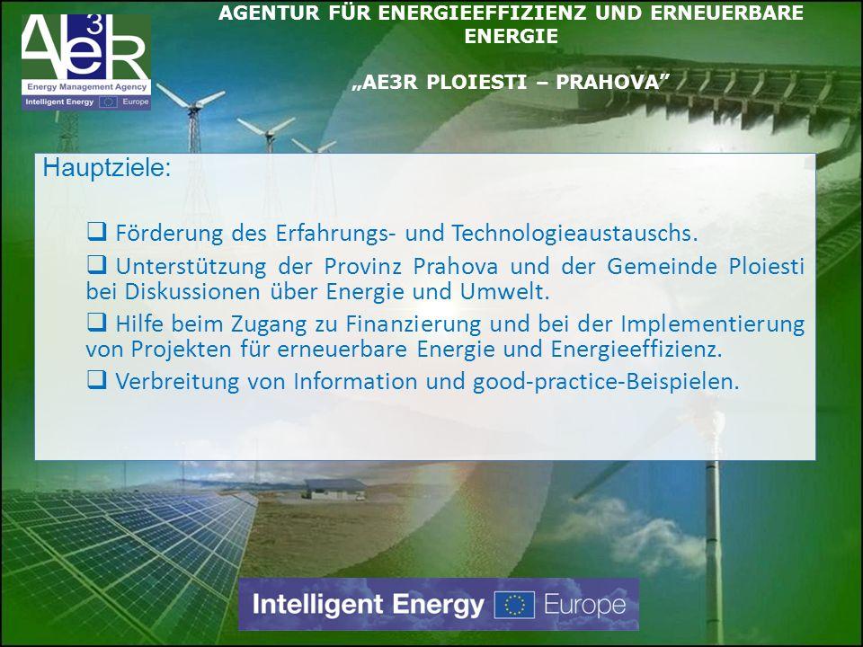 Förderung des Erfahrungs- und Technologieaustauschs.