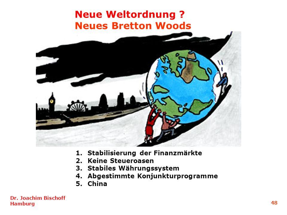Neue Weltordnung Neues Bretton Woods