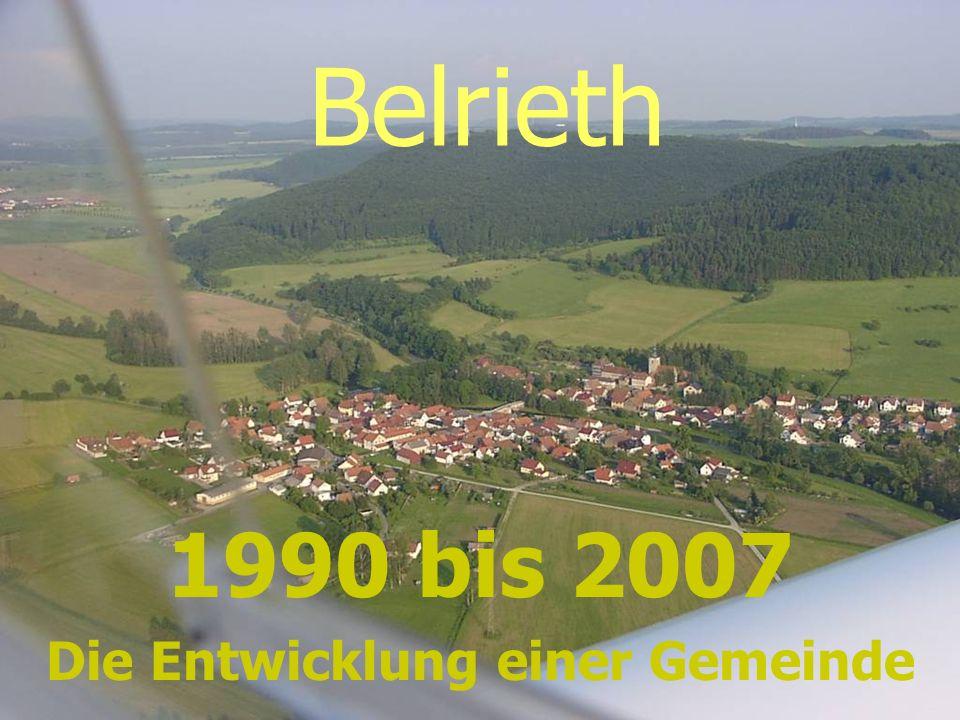1990 bis 2007 Die Entwicklung einer Gemeinde