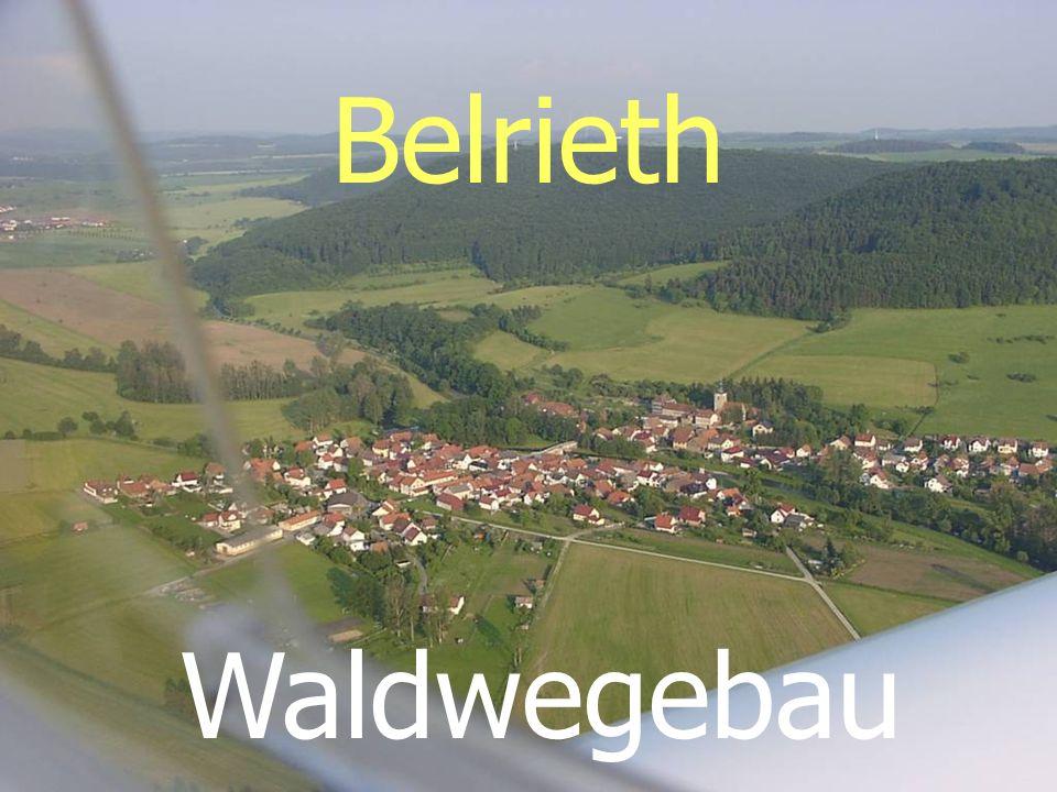 Belrieth Waldwegebau