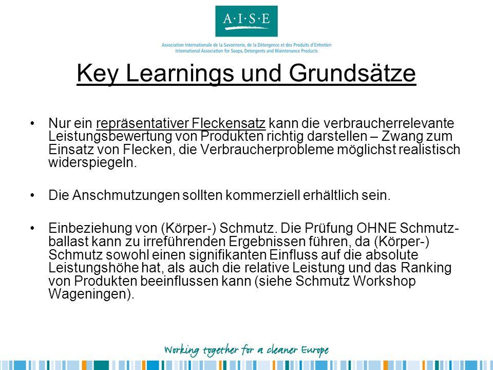 Key Learnings und Grundsätze
