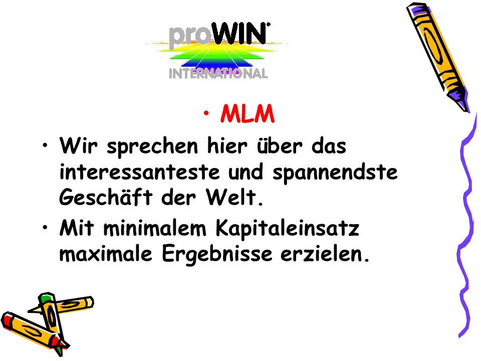 MLMWir sprechen hier über das interessanteste und spannendste Geschäft der Welt.
