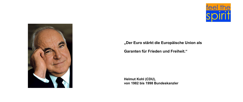 """""""Der Euro stärkt die Europäische Union als"""
