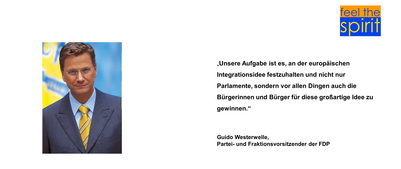 Partei- und Fraktionsvorsitzender der FDP