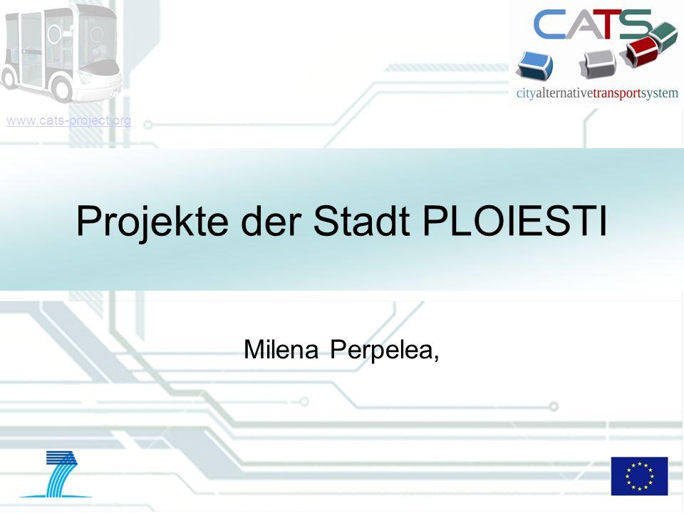 Projekte der Stadt PLOIESTI
