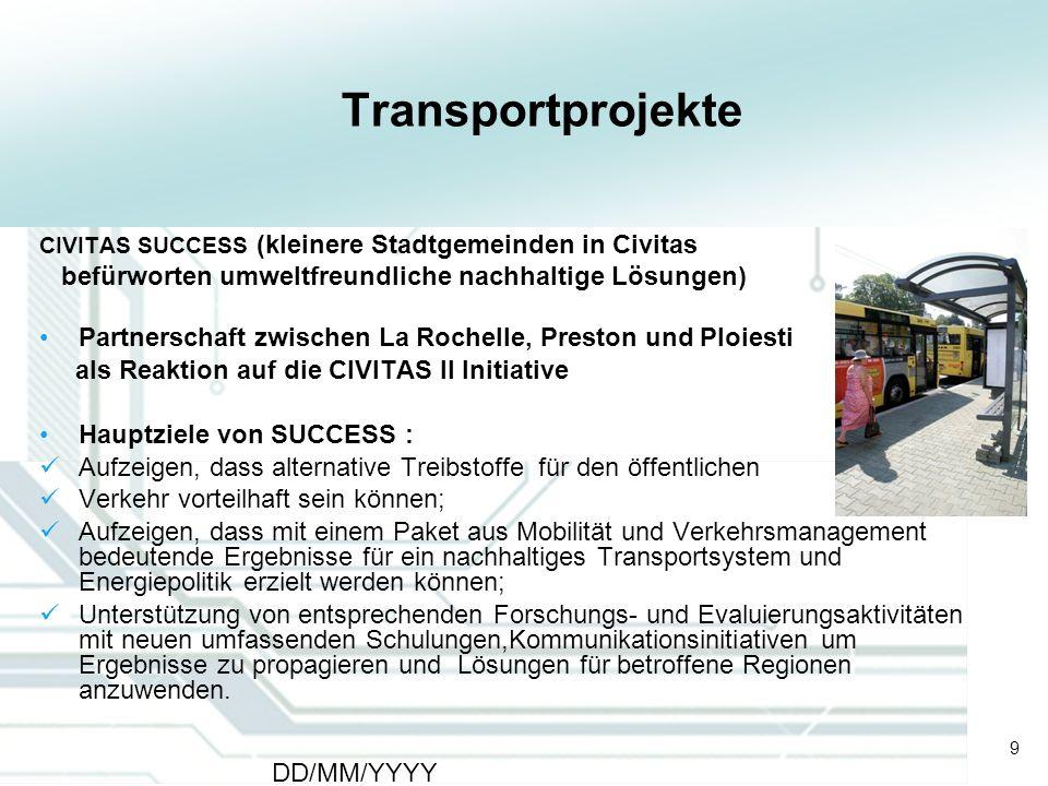 Transportprojekte befürworten umweltfreundliche nachhaltige Lösungen)