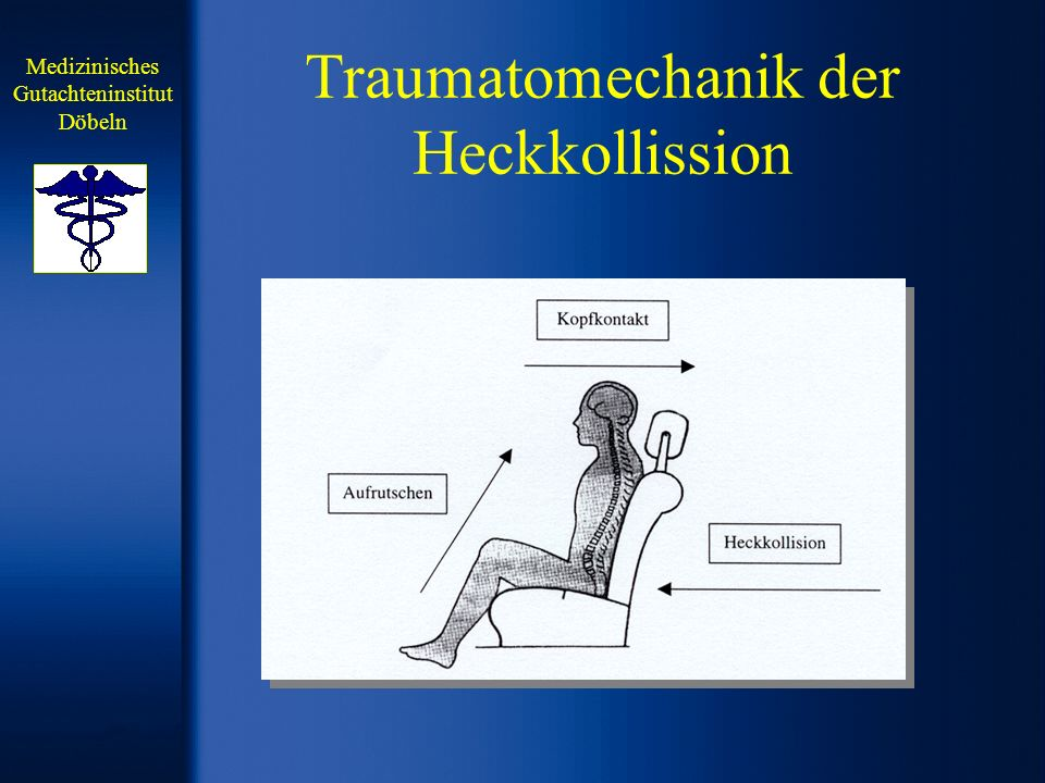 Traumatomechanik der Heckkollission