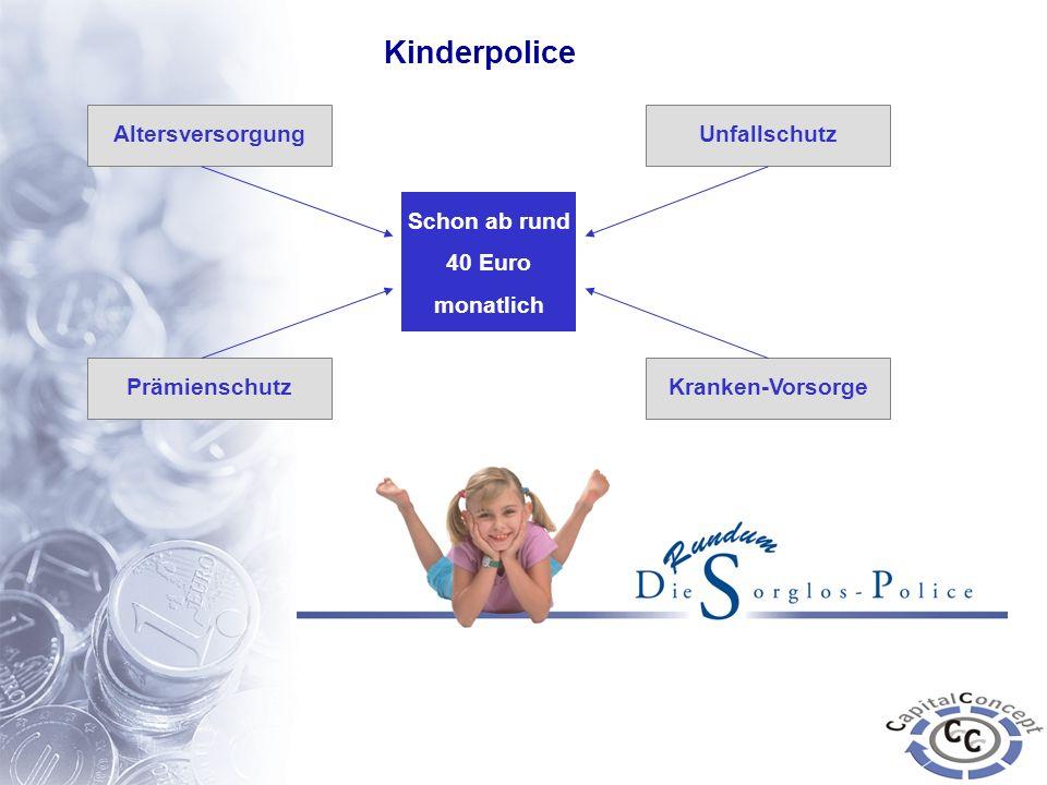 Kinderpolice Altersversorgung Unfallschutz Schon ab rund 40 Euro