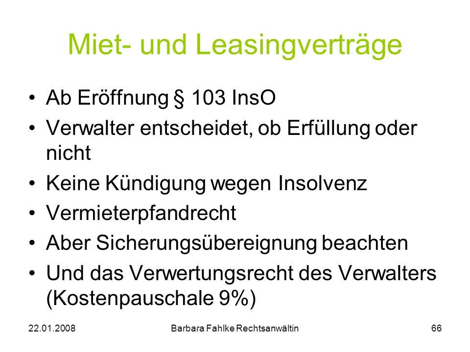 Miet- und Leasingverträge