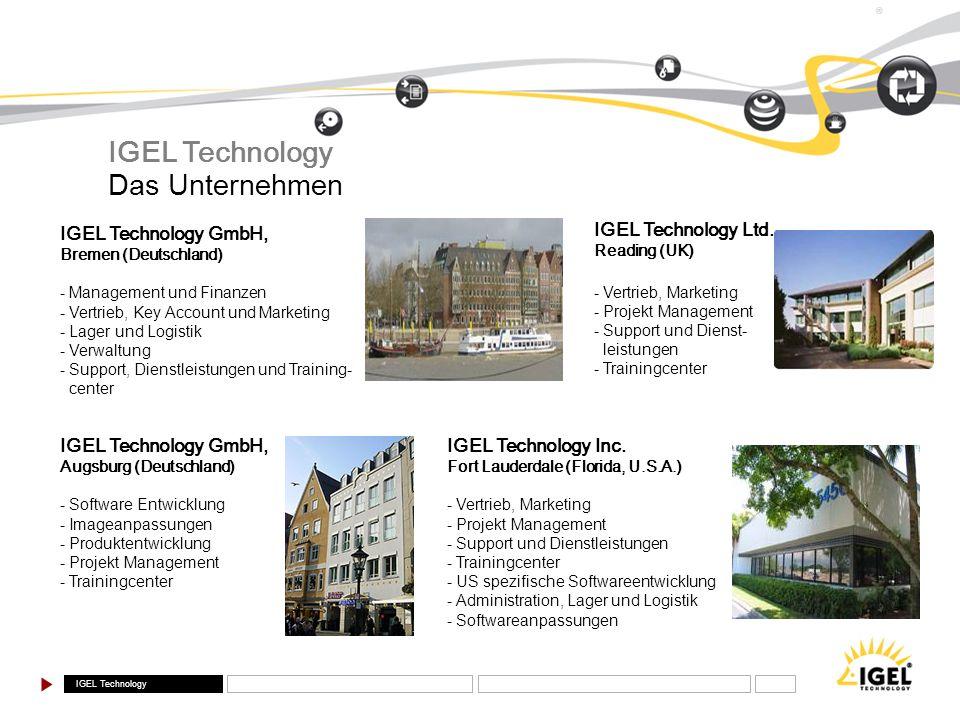 IGEL Technology Das Unternehmen IGEL Technology GmbH,