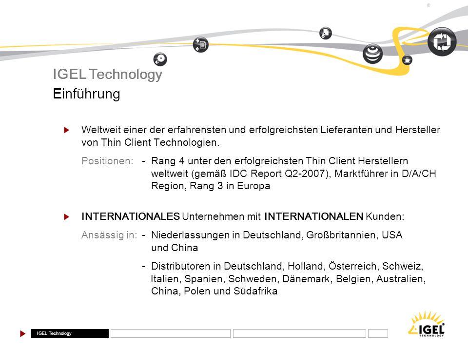 IGEL Technology Einführung