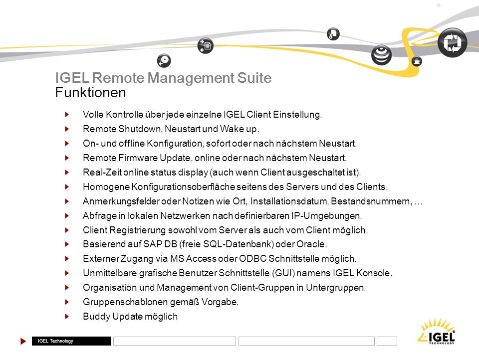 IGEL Remote Management Suite