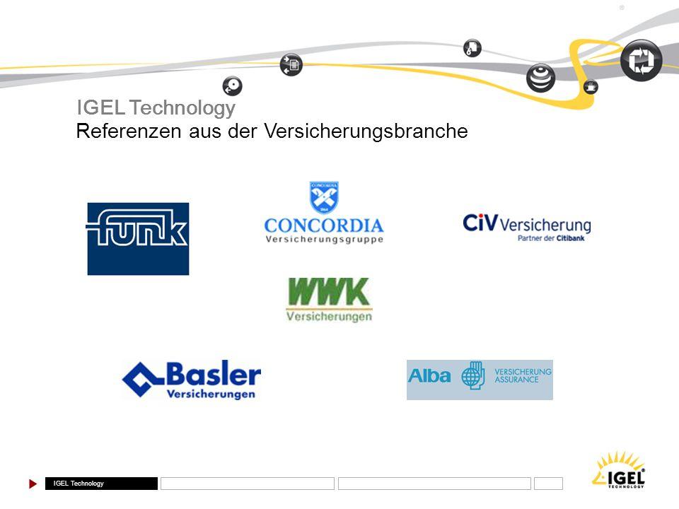 IGEL Technology Referenzen aus der Versicherungsbranche
