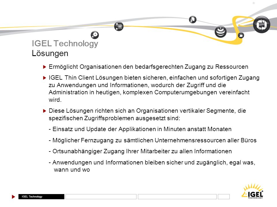 IGEL Technology Lösungen