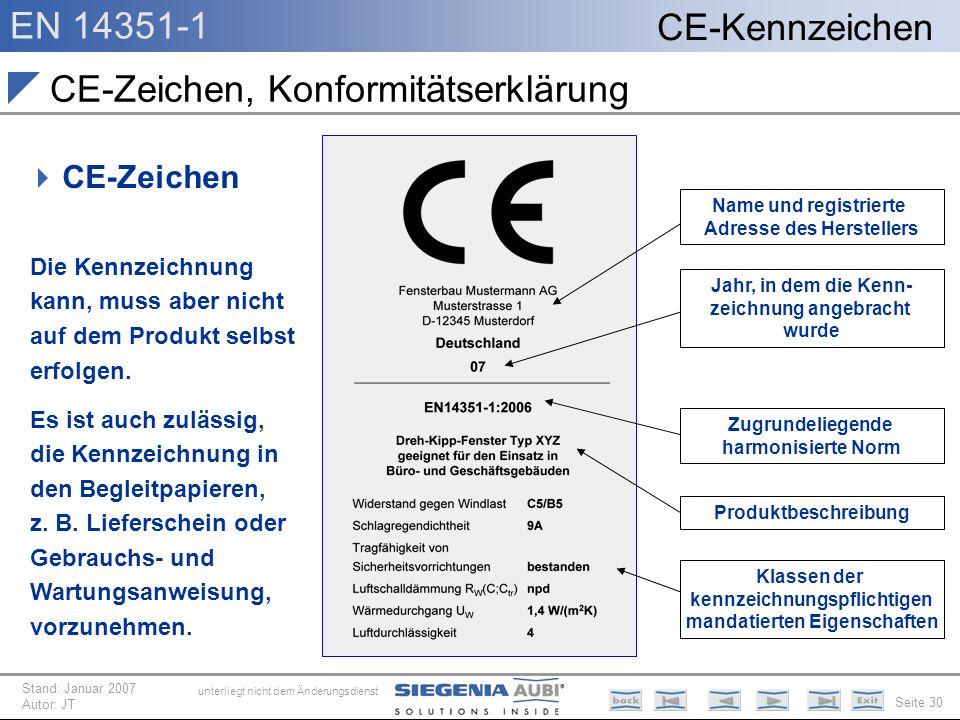 CE-Zeichen, Konformitätserklärung