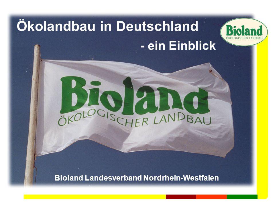 Ökolandbau in Deutschland
