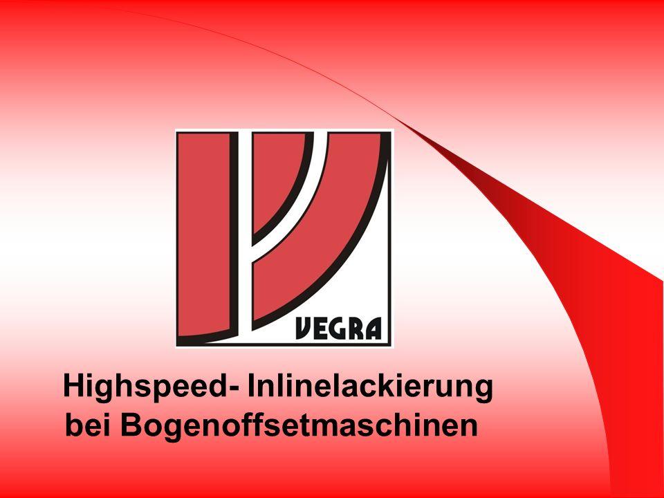 Highspeed- Inlinelackierung