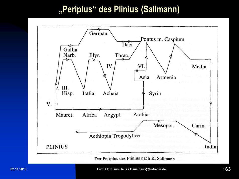 """Periplus des Plinius (Sallmann)"