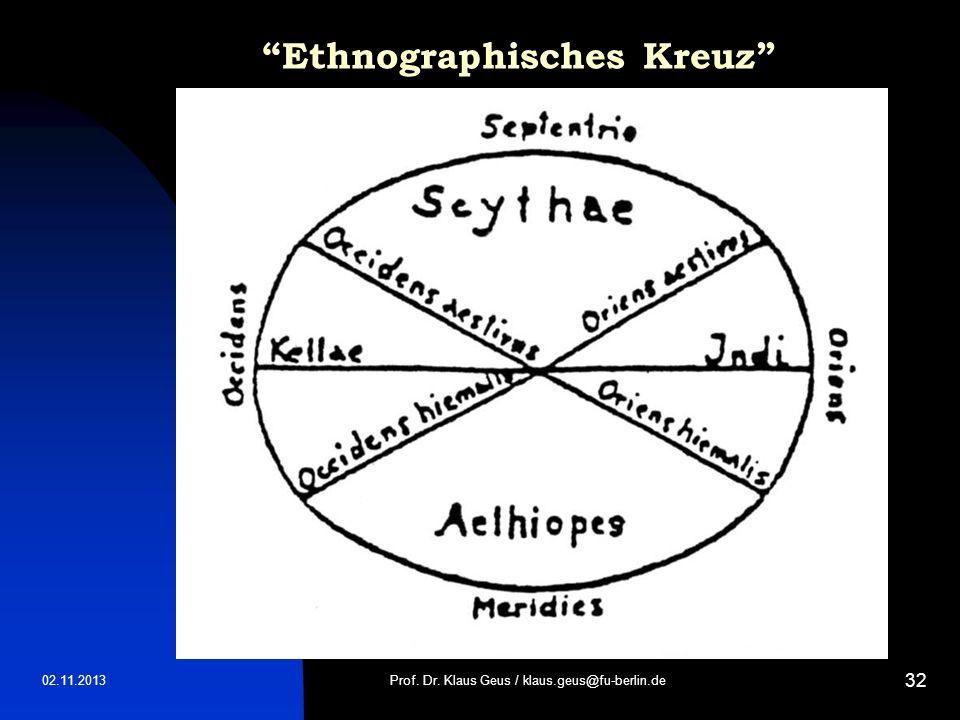 Ethnographisches Kreuz