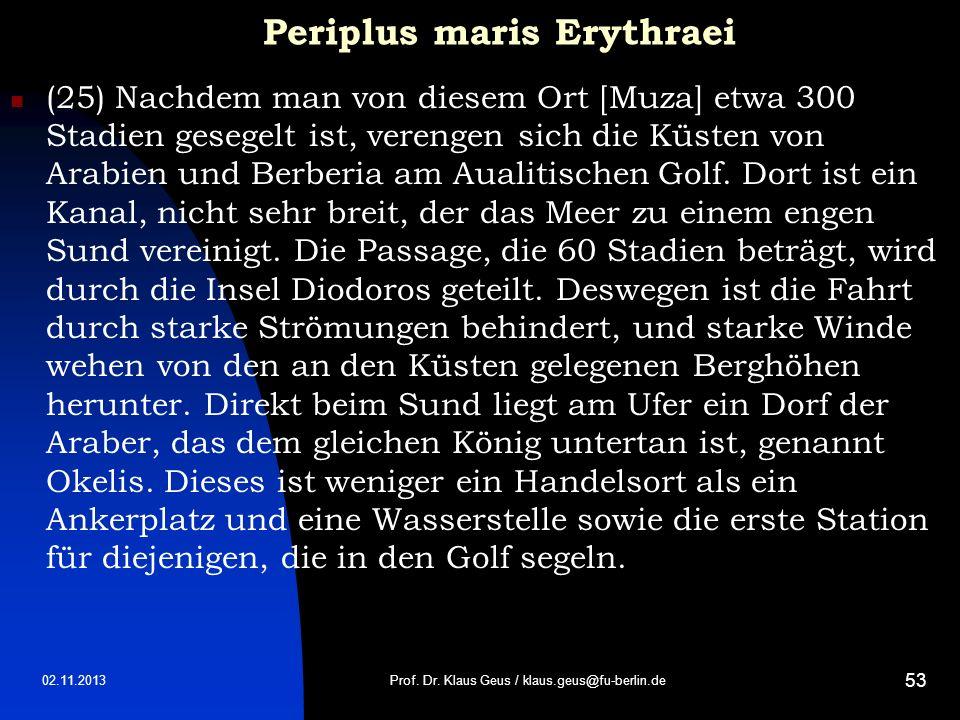 Periplus maris Erythraei