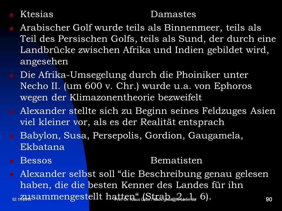 Prof. Dr. Klaus Geus / klaus.geus@fu-berlin.de