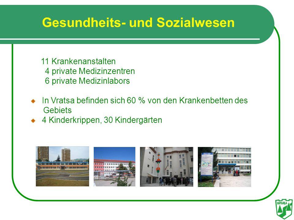 Gesundheits- und Sozialwesen