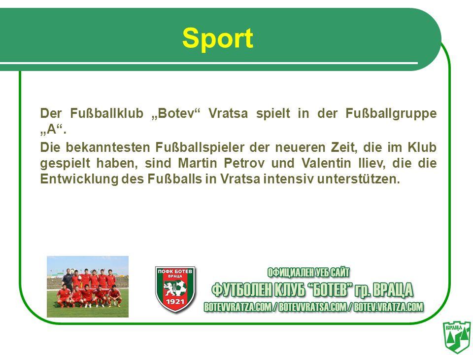 """Sport Der Fußballklub """"Botev Vratsa spielt in der Fußballgruppe """"A ."""