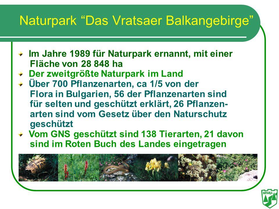 Naturpark Das Vratsaer Balkangebirge