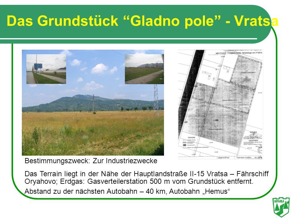 Das Grundstück Gladno pole - Vratsa