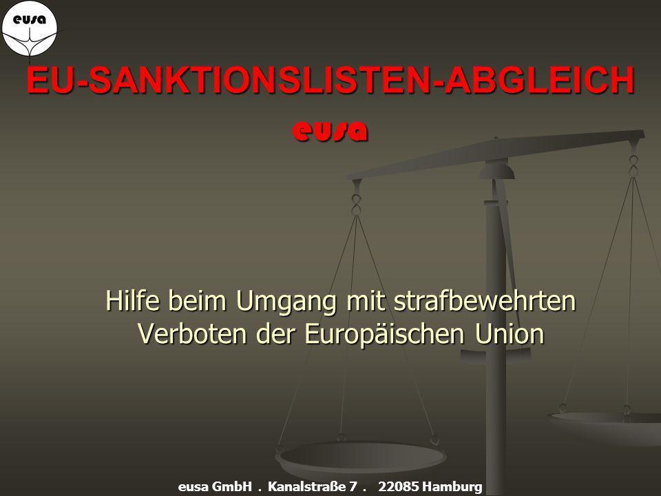 EU-SANKTIONSLISTEN-ABGLEICH eusa