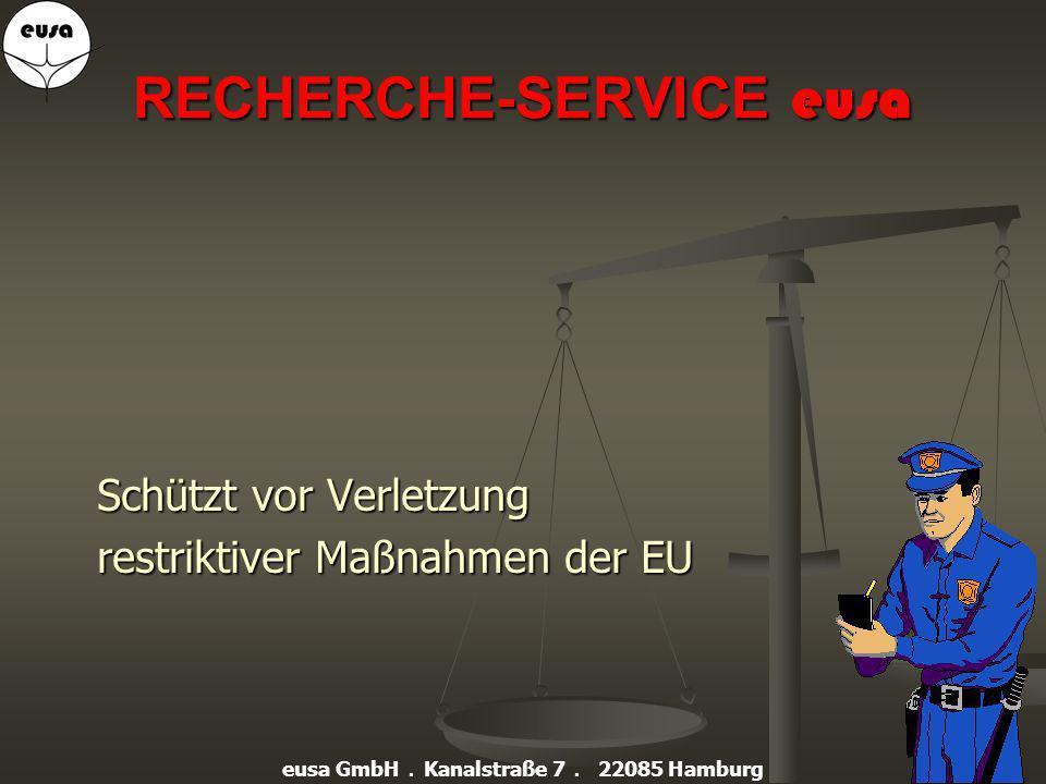 RECHERCHE-SERVICE eusa